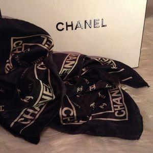 CHANEL - silk scarf